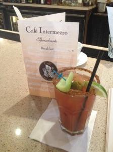 cafe Intermezzo Bloody mary