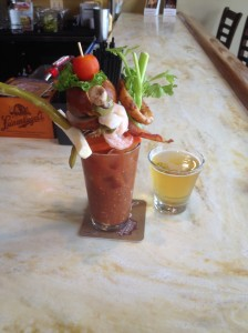 Slinger House Ultimate Bloody Mary