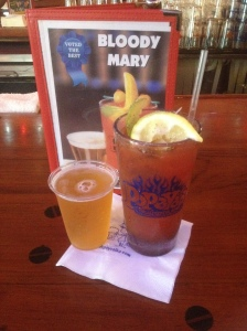 Popeyes Bloody mary