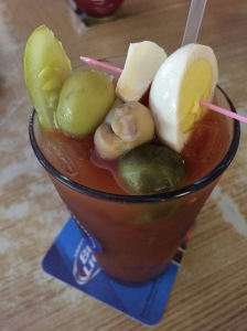 Between the Greens Bloody Mary