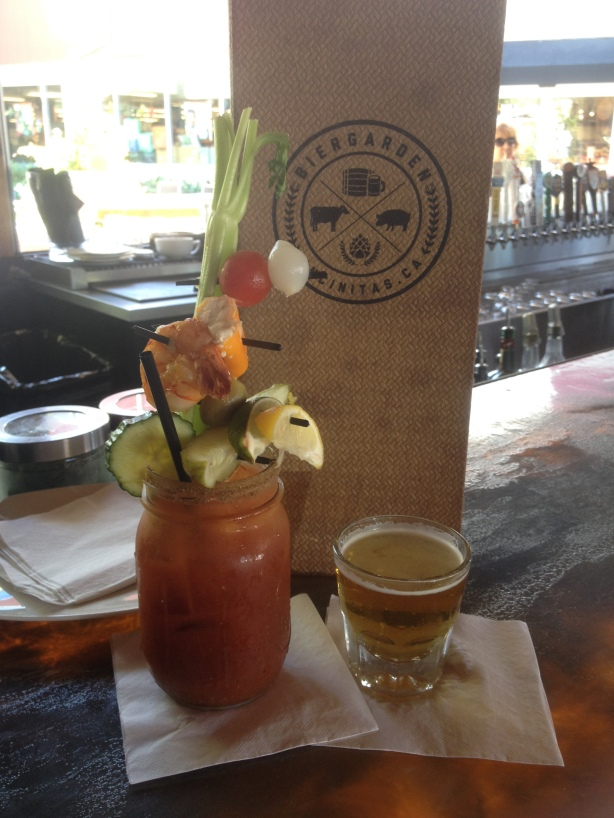 Bier Garden Encinitas Bloody Mary