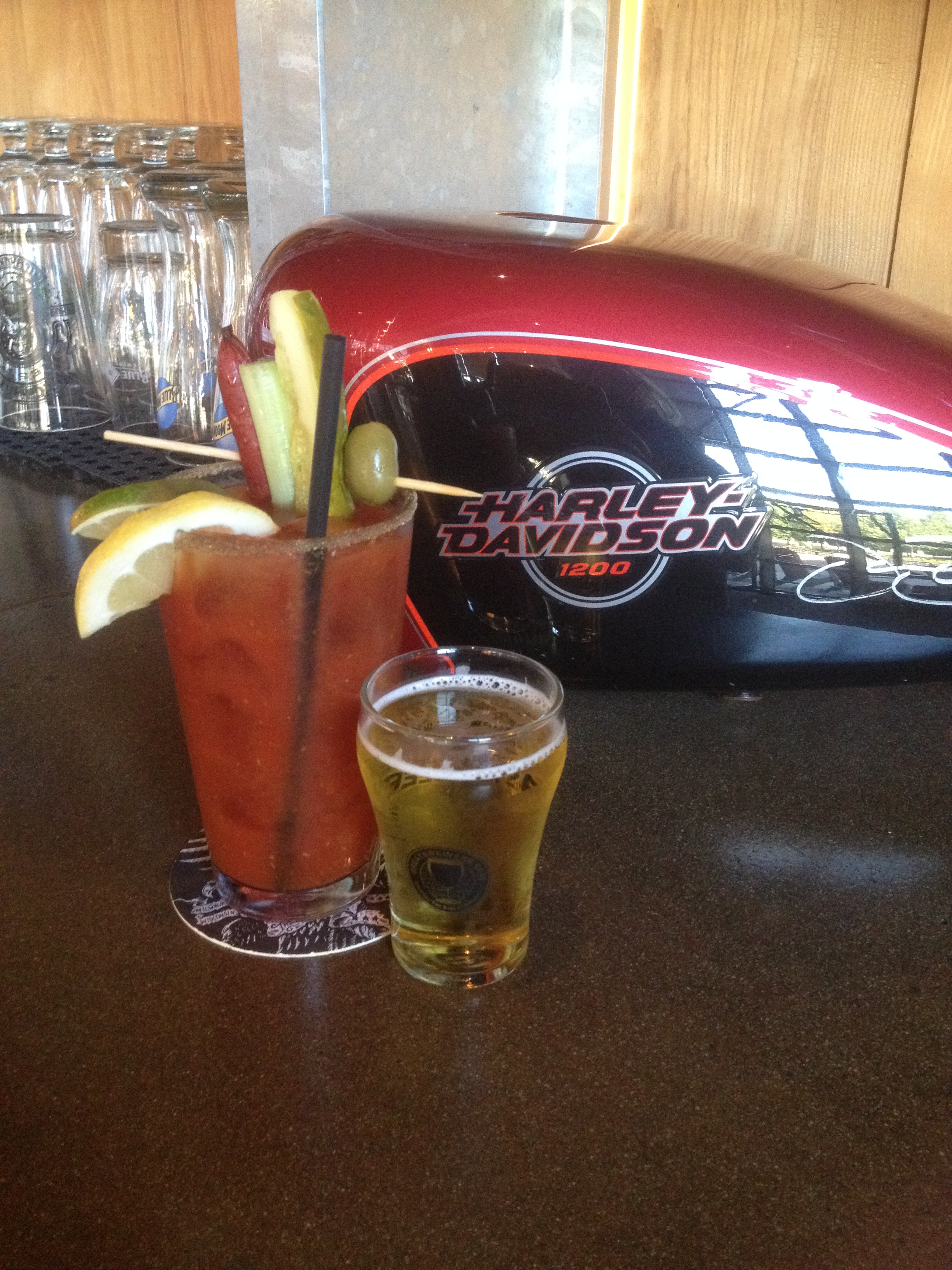 Vote now for motor bar restaurant s beefy mary for for Motor bar and restaurant