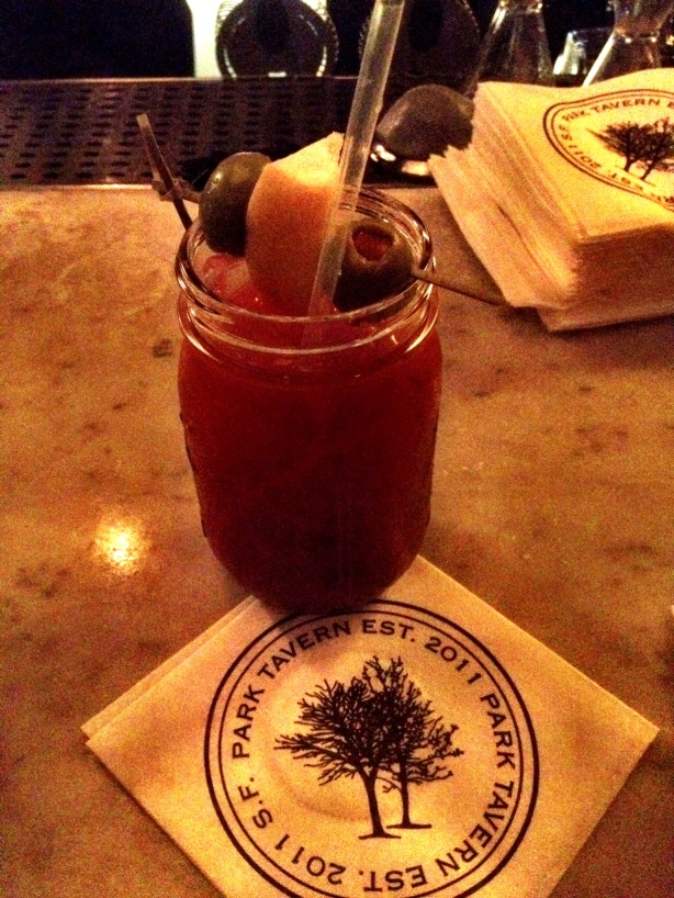 Park Tavern Bloody Mary