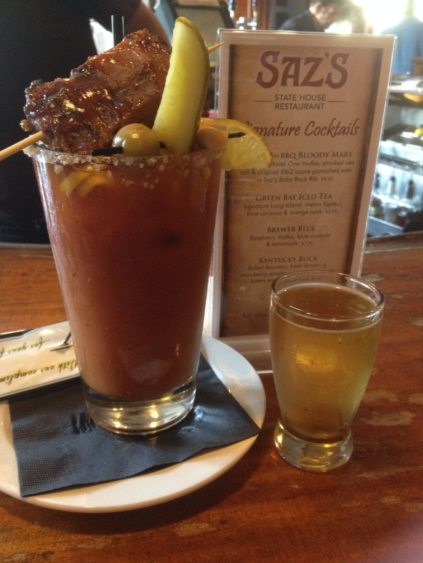 Saz's BBQ Bloody Mary