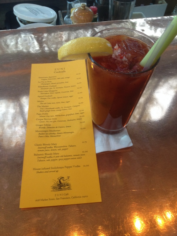 Zuni Cafe Balsalmic Bloody Mary