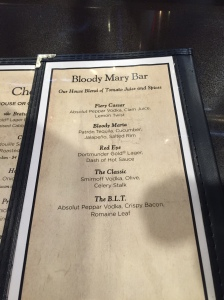 Great Lakes Brewing Bloody Mary List