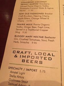 Seasons 52 Bloody Mary Nectar