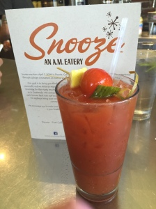 Gazpacho Bloody Mary Snooze