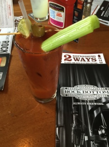 Rock Bottom Brewery Bloody Mary