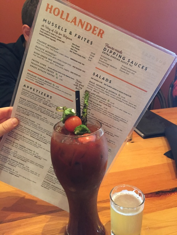 Cafe Hollander Bloody Mary