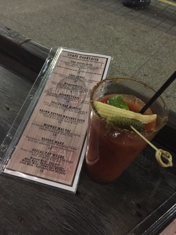 Social Tap Bloody Mary San Diego