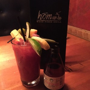 Hom woodfired grill bloody mary