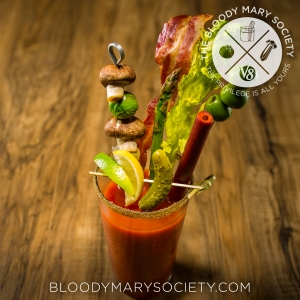 Out For Bloodies' Ultimate Bloody Mary is featured on the Bloody Mary Society page!