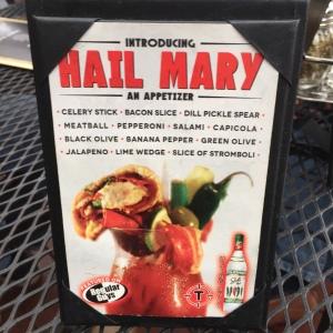 Hail Mary Elbow Room