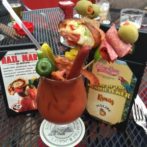 Hail mary Bloody Mary Elbow room