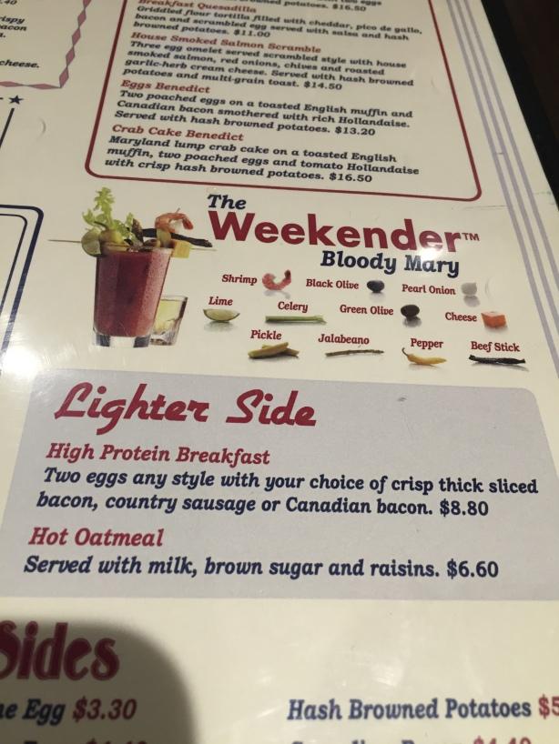 Weekender Bloody Mary